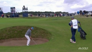 Best thing I saw: Justin Timberlake's pot bunker shot in Scotland