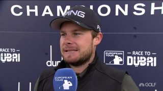 Hatton (68) feeling 'comfortable' with game in Scotland