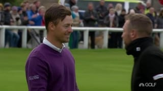 Highlights: Perez beats Southgate at St. Andrews