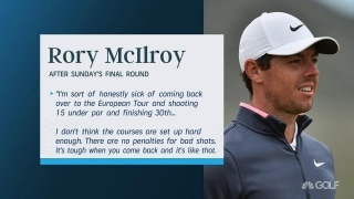 McIlroy challenges Euro Tour: 'Setups need to be tougher'