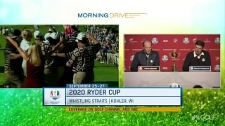 Harrington, Stricker recall Ryder Cup rookie experiences