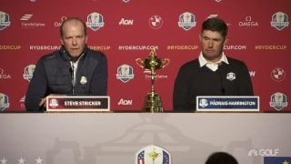 Ryder Cup 2020: Stricker, Harrington meet media at Whistling Straits