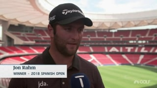 Walking in Seve's footsteps: Rahm recalls '18 Spanish Open win