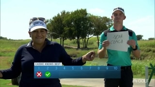 Caddie knows best: Lizette Salas and Patrick Smith