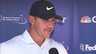 Koepka (70): 'Overall, I didn't think it was too bad'