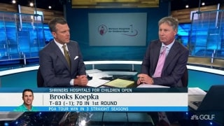 Chamblee: Koepka's par-5 performance 'not really up to snuff'