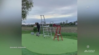 You be the judge: Golf trick shots