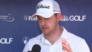 Cantlay (64): 'I hit driver a lot out here ... and it's worked'