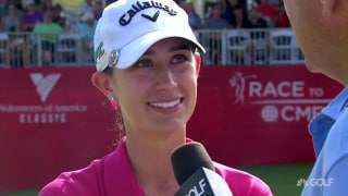 Knight on breakthrough win: 'I think I had a second caddie out there'