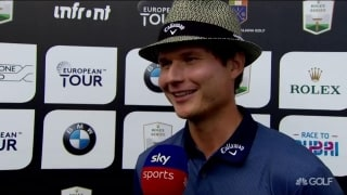 Pulkkanen (64): 'Putter was really hot today'
