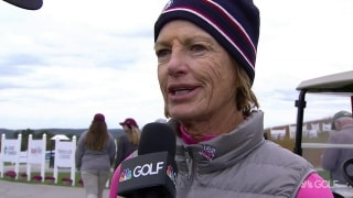 Inkster on Senior LPGA runner-up finish: 'I'll just keep trying'