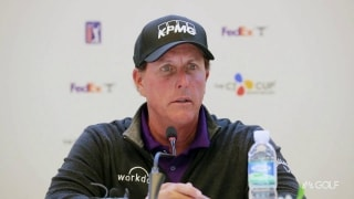 Phil on Presidents Cup pick: 'Not asking for one, I don't expect one'