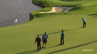Under the radar: Sharma sneaks in long birdie putt