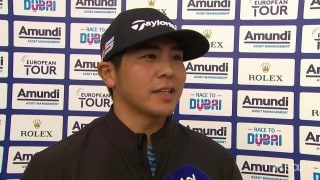 Kitayama pleased with putting after 66 in France