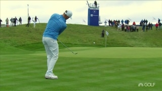 Shot of the day: Noren closes round with an eagle
