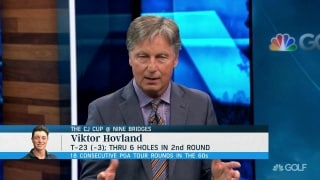 Chamblee breaks down Hovland's record setting 18 consecutive rounds in the 60's