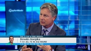 Chamblee on what's wrong with Koepka: 'Streaky player, not a consistent player'