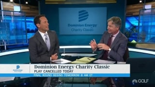 Monday finish at Dominion Energy Charity Classic