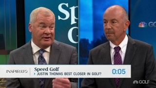 Speed Golf: JT the best closer? Upper hand with Brooks or Rory?