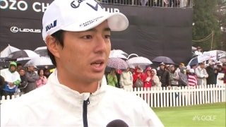 Ishikawa excited by 'biggest crowds in Japanese golf history'