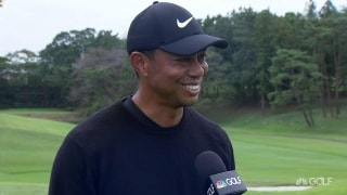 Woods (64): 'One of the stranger rounds I've experienced in a while'