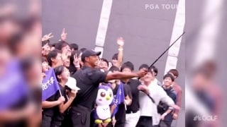 Best thing I saw: Tiger Woods' golf clinic in Japan