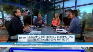 Is making the 2020 U.S. Olympic team an attainable goal for Tiger?