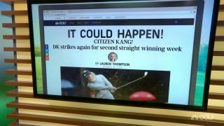 'It Could Happen' headline: Citizen Kang strikes again for 2nd straight win