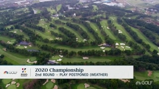 Zozo Championship Round 2 canceled due to weather