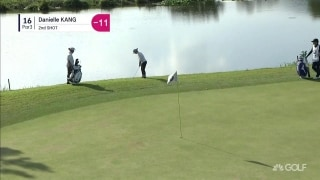 Highlights: Kang chases the lead into Sunday at BMW Ladies Championship