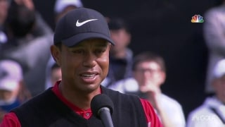 Tiger: 'Hard to believe it's been 23 years' between win Nos. 1 and 82