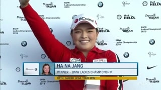 Sirak: Welcome back to the LPGA winner's circle, Ha Na Jang
