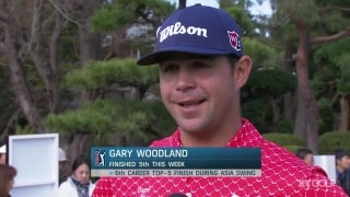 Woodland talks Tiger: 'It's hard to bet against that guy'