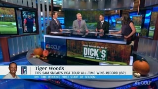 Lavner: Tiger 'keeps finding ways to reinvent himself'