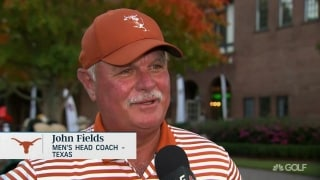 Texas coach Fields: 'For our guys, this is one of those I can be moments'