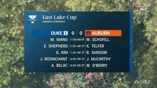 East Lake Cup: Burkowski previews women's semifinals