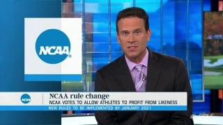 NCAA votes to allow athletes to profit from likeness