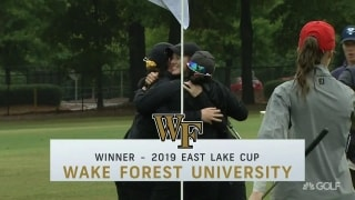 In style! Big putt wins East Lake Cup for Wake Forest