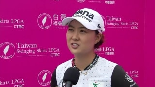 M. Lee happy with 67 after battling the wind in Taiwan