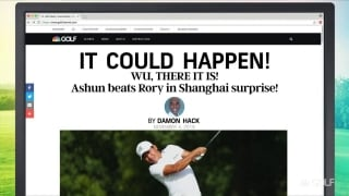 It Could Happen: Wu, there it is! Ashun beat Rory in Shanghai surprise