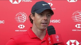 McIlroy (67): Pleased with round 'especially after the mess I nearly made on 16'
