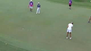 Highlights: M.J. Hur (66) putts her way into lead in Tawain