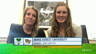 Wake Forest's Migliaccio, Lewellen excited for more after East Lake Cup triumph