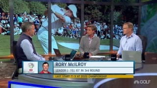 Anyone better equipped for extreme spotlight than McIlroy?