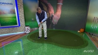 Bateman breaks down Jimenez's crazy putting grip