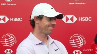 McIlroy survives his 'mini storm' to fire third-straight 67 in Shanghai
