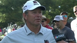 Goosen (66): When Langer's on the leaderboard 'gotta put your foot down'
