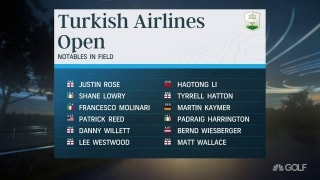 Rolex Series returns with Turkish Airlines Open