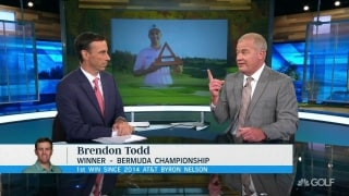 Isenhour: 'So few players come back from' full-swing yips
