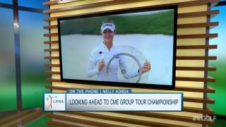 N. Korda talks playoff win: 'I was impressed with myself'
